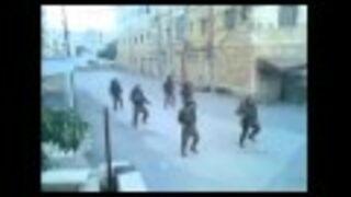 Israeli soldiers - Rock the Casbah in HEBRON