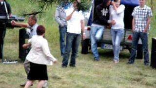 Tańce na odpuście w Kamiance