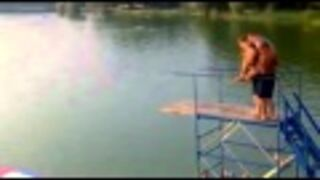 Funny plunge