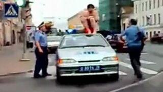 Golas vs. policjanci