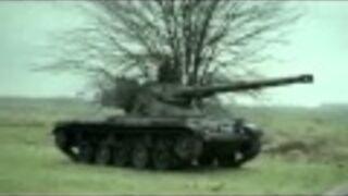 Gra w rzutki czołgiem