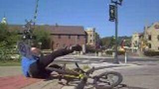 Niecodzienne triki rowerowe