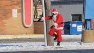 Tańczący Mikołaj