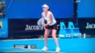 Radwanska Loses Her Racquet