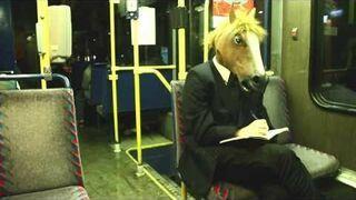 Koń w tramwaju