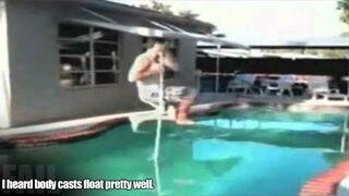 Pool Jump Back Break FAIL