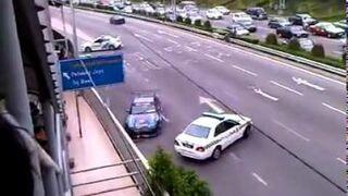 Police vs Drifter