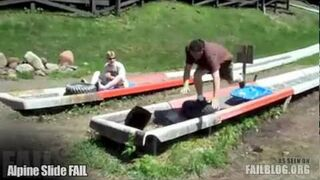 Alpine Slide FAIL