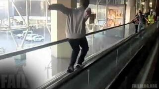 Moving Sidewalk Trick FAIL