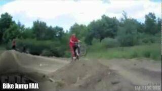 Bike Jump FAIL