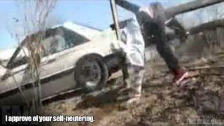 Moving Car Jump FAIL