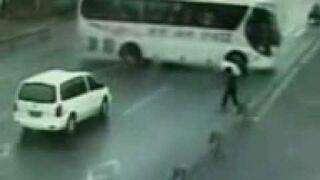 Drift autokaru na Człowieku