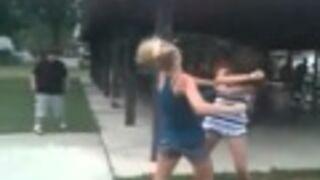 Walka dziewcząt
