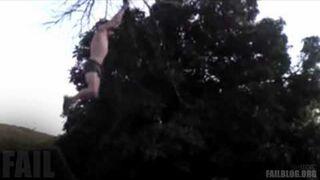 Tree Swing FAIL
