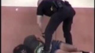 Zdecydowana interwencja policjanta
