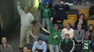 Funny CRAZY fan on match ! EPIC !! WIN !!
