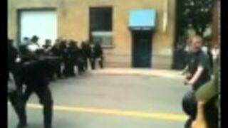 TORONTO: Policja strzela do protestujących