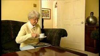 Reklama wibratora z Babcią