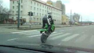 Kawasaki Stunt in Poland