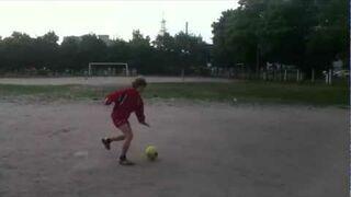 Piłkarski snajper