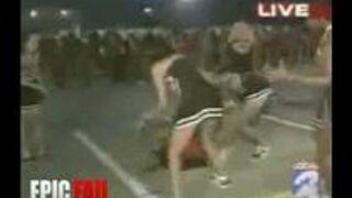 Cheerleader Fail