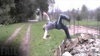 Outdoor Gymnastics FAIL