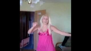 Blond wiocha