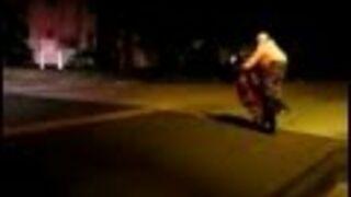 Shortest Police Chase Ever