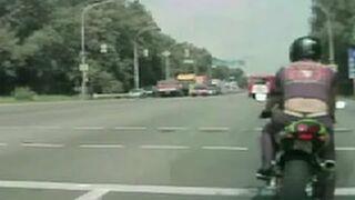 Motorcycle Showoff FAIL