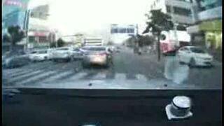 Kolejny idiota na drodze