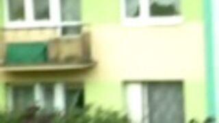 Kanapa z balkonu
