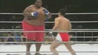 600lb vs 169lb MMA Mismatch
