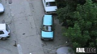 Parallel Parking Skills FAIL