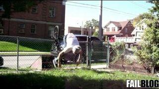 Fence Hop FAIL