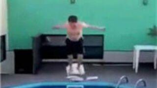 """Elegant"" Dive Off Chair Pool"