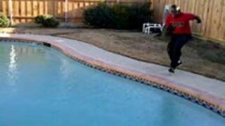 Skok przez basen
