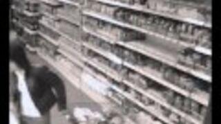 Walka w supermarkecie