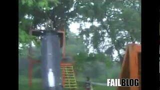 Slip Off The Slide FAIL
