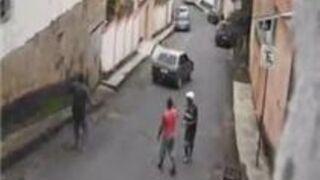 Three Guys Lose A Car Down A Hill