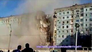 Zawalił się budynek w Astrachaniu