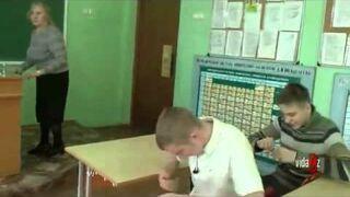 Zadyma w Rosyjskiej szkole