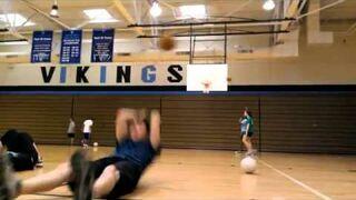Basketball headshot