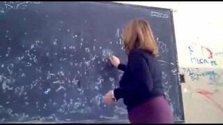 Nauczyciel matematyki, który nie potrafią mnożyć