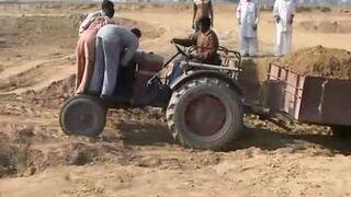 Ciężka praca w Indiach