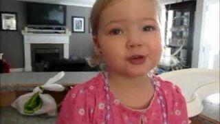 2yr old Makena sings Adele...so cute