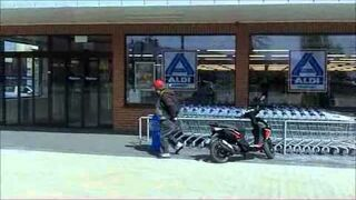 Harleyowiec na zakupach