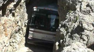 Like a Bus Through a Rock Tunnel
