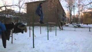 Sztuczka na trzepaku (Rosja)