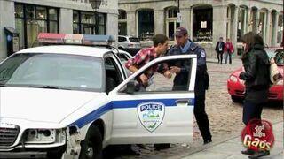 Victim Steals Police Car Prank