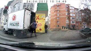 Rosja: Kradzież kiełbasy